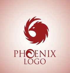 phoenix logo 5 vector image