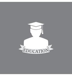 symbol education vector image