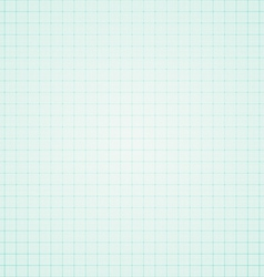 Blue graph paper background vector image