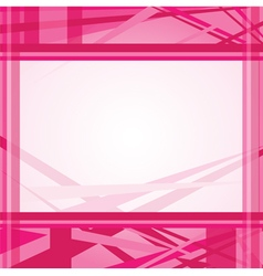 Pink abstract line background template vector