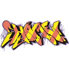 Graffito - home vector