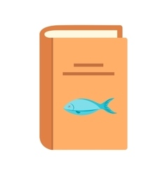Seafood recipes vector