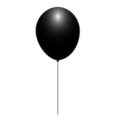 Isolated balloon icon vector