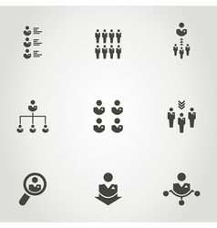Network an icon vector image