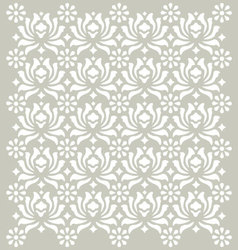 Seamless earth tone pattern background vector image vector image