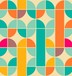 Retro pattern vector