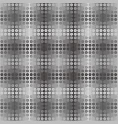 dark gray dot background seamless pattern vector image
