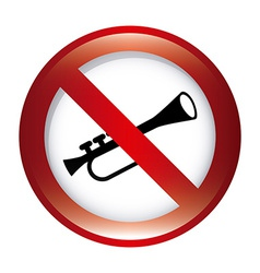 Dont music design vector
