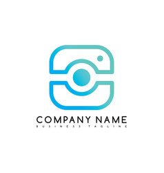 Camera photography brand company template logo vector
