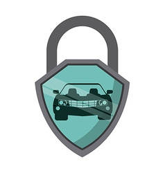 car insurance vector image vector image