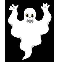evil ghost vector image vector image
