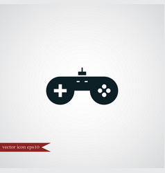 Game icon simple vector