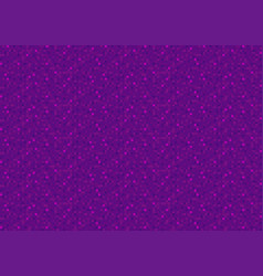 purple pixel seamless background vector image vector image