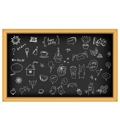 school board vector image vector image