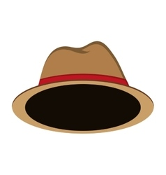 Isolated hat accessory design vector