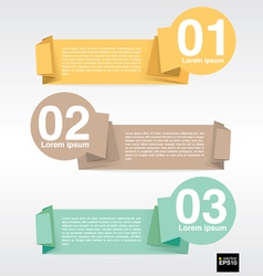 Colorful banner template eps10 vector