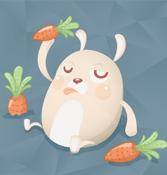 Fat cony vector