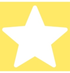 Star icon from competition  success bicolor icon vector