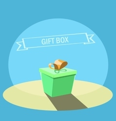gift boxe background vector image
