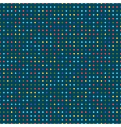 colorful dots vector image vector image