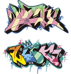 Graffito - luck vector