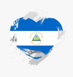 Flag of nicaragua vector