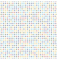 Colorful dots vector