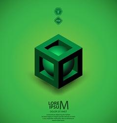 Plus logo vector image
