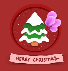 Christmastree x vector