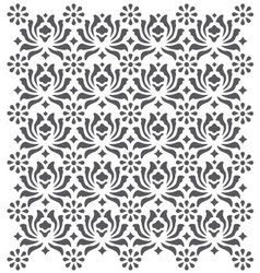 Seamless Gray pattern background vector image vector image