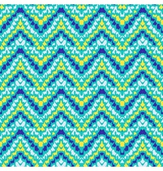 Chevron zig zag geometric pattern vector