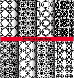 Patterns floral ornaments hand drawn vector