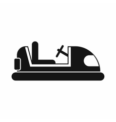 Toy car icon simple style vector