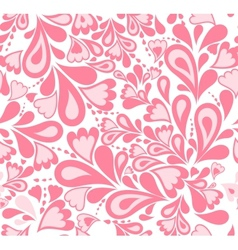 Seamless background pink splash pattern vector image