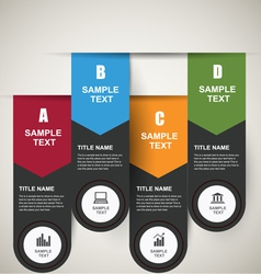 Infographics banners vector