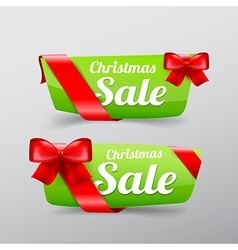 40 Collection of Christmas web tag banner for vector image vector image