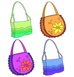 female handbags vector image vector image