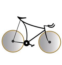 sports bike vector image