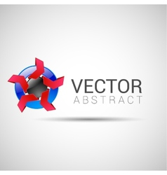 Abstract shape eps10 design color abstract vector image vector image