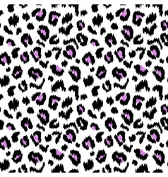 Leopard print seamless pattern texture vector image