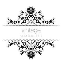 Ornate vintage frames seven vector