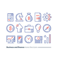 audit services financial consulting money vector image vector image