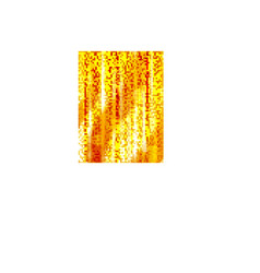 Orange abstract vertical lines and boke effect vector image