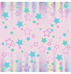 Pattern modern style delicate color vector image vector image