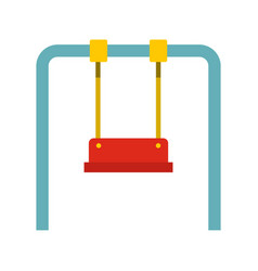 Swing icon flat style vector
