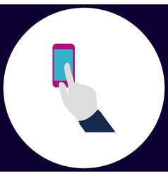 Use phone computer symbol vector