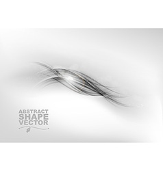 Abstract grey center text vector