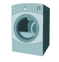 Clothes dryer vector