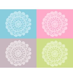 Crochet work vector