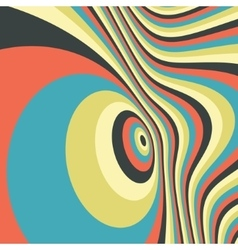 Abstract swirl background pattern with optical vector